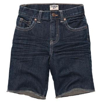 #redwhitebgosh Cut-Off Denim Shorts