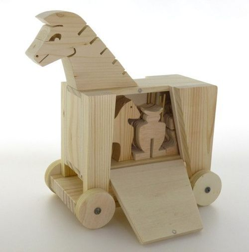 Trojan Horse - too fun!