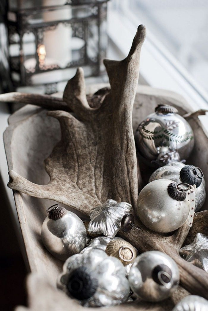 stoere kerststyling