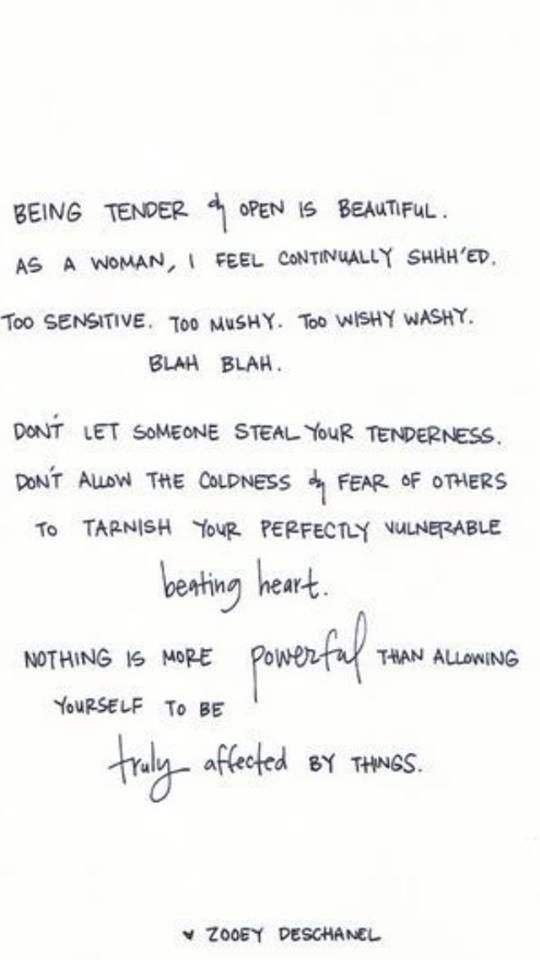 Allow yourself ...