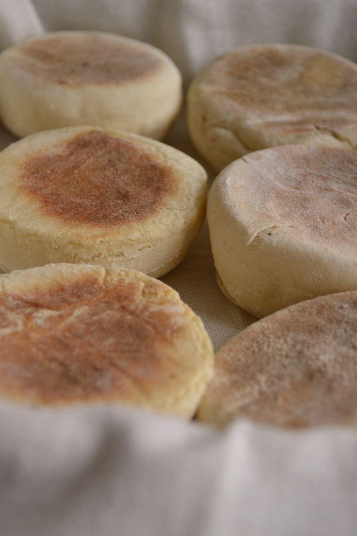 English muffins ou petits pains anglais