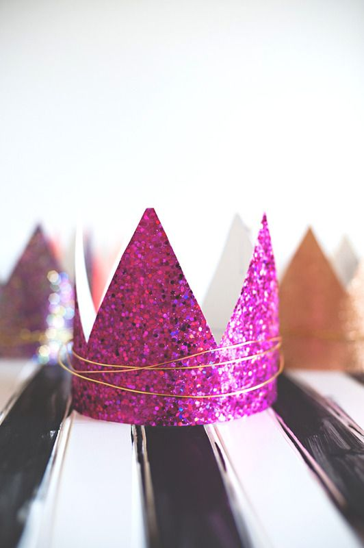 Free printable birthday crown template + DIY tips from A Subtle Revelry