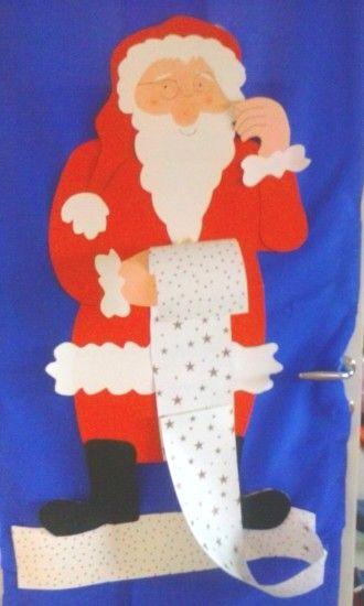 Χριστουγεννιάτικη διακόσμηση πόρτας