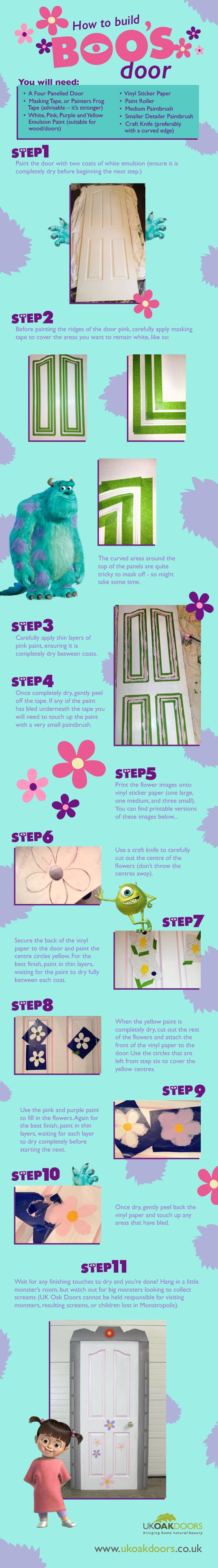 How to Build Boo's Door - Monsters Inc