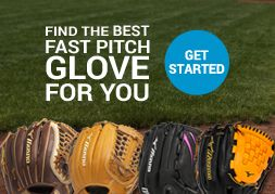 Find the best fastpitch glove for you - click to get started