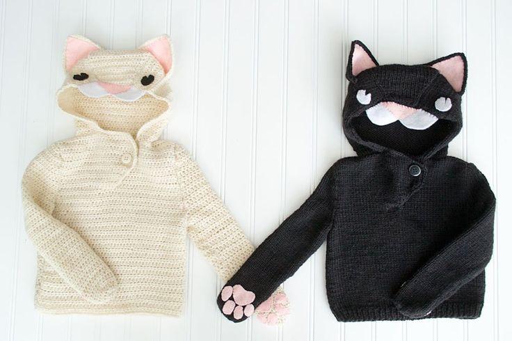 baby cat hoodies
