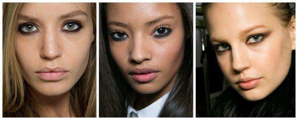 Какой макияж актуален этой осенью и зимой? | Модные тенденции 2014-2015