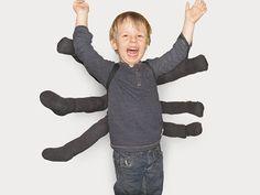 DIY-Anleitung: Kostüm Spinne selber machen via DaWanda.com