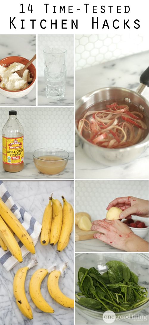 """Tried and tested kitchen """"hacks"""" that will change the way you cook!"""