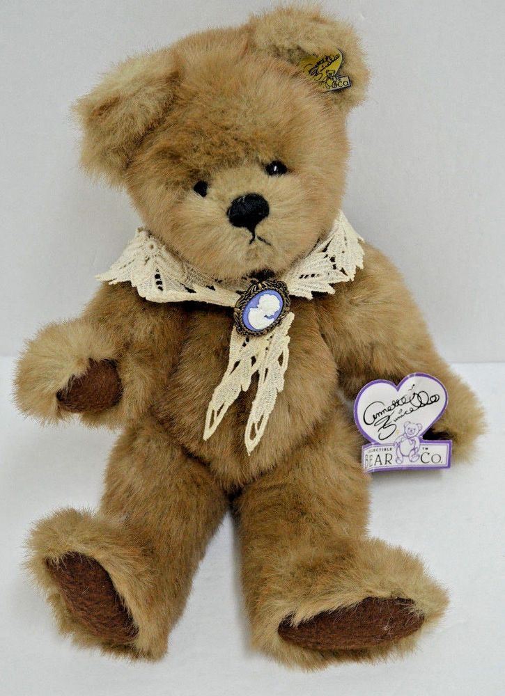Funicello Jointed Teddy Bear Collectible Cameo Pin
