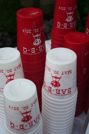 16 oz Custom Stadium Cups BBQ Plastic Cups Family by RoostPaperie