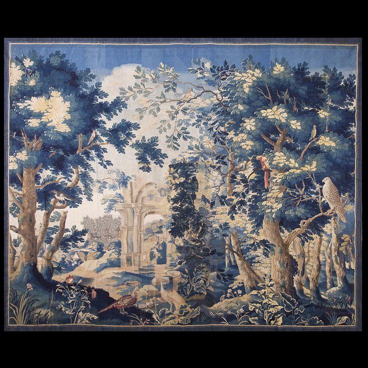 Tapestry Rug 20258 European 10 9 X 13 8 Ivory