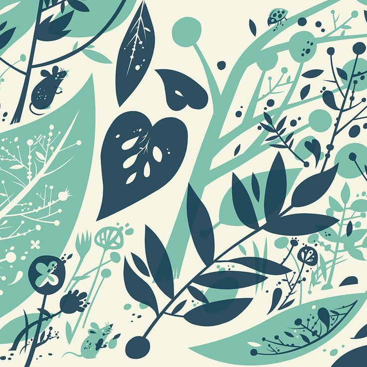'Forest Floor', a print from The Little Friends of PrintmakingHands Screenprint Piece, Design Inspiration, Fabulous Spaces, Spices Gardens, Rad Hands Screenprint, Pattern Perfect, Block Prints, Forests Floors, Artsy Stuff