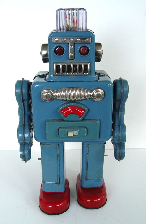 Attack of the Vintage Toy Robots! Justin Pinchot on Japan's Coolest Postwar Export | Collectors Weekly