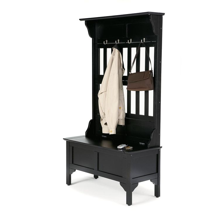 Have to have it. Home Styles Hoisin Hall Tree Storage Bench $319.98 at www.hayneedle.com