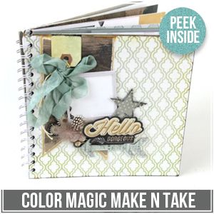 The items included in these kits are available in local scrapbooking stores, online stores and in some cases Michaels and Hobby Lobby.