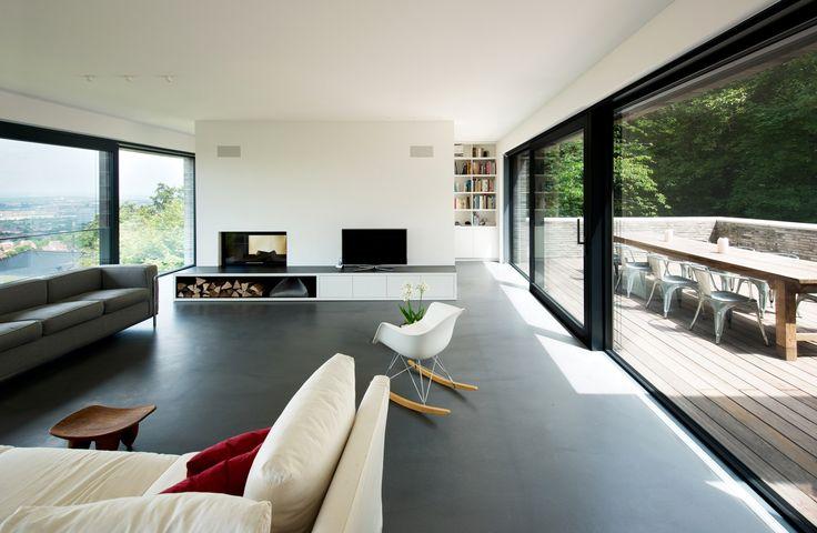 Wohnzimmer Google Trennt Moderne Baunetz Wohnraum Stuttgart