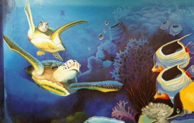 Underwater Mural Pictures to pin