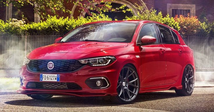 New Fiat Tipo Hatchback Gets Rendered As Something Sporty #Fiat #Fiat_Tipo