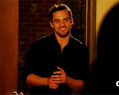 Pin for Later: 50 Reasons You Can't Stop Crushing on Nick Miller He Has a Hot Stare