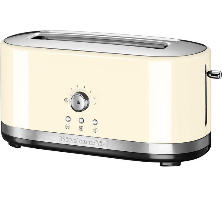 Buy a kitchenaid 5kmt4116bac 2slice toaster online at