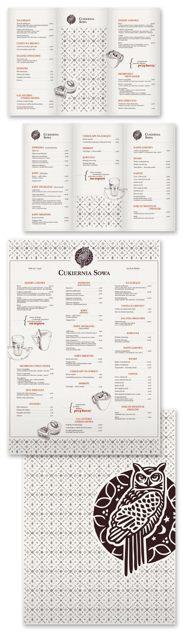 22 best menus images on Pinterest | Graphics, Menu cards and ...
