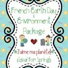 This file includes a French package for Earth Day, though it can also be used any time during the spring or during units about the environment and ...