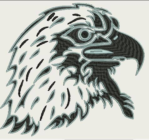 Eagle - (230x230 Hoop) by Judean888 on Etsy