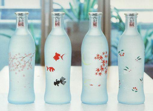 四季の純米吟醸ボトル Sake