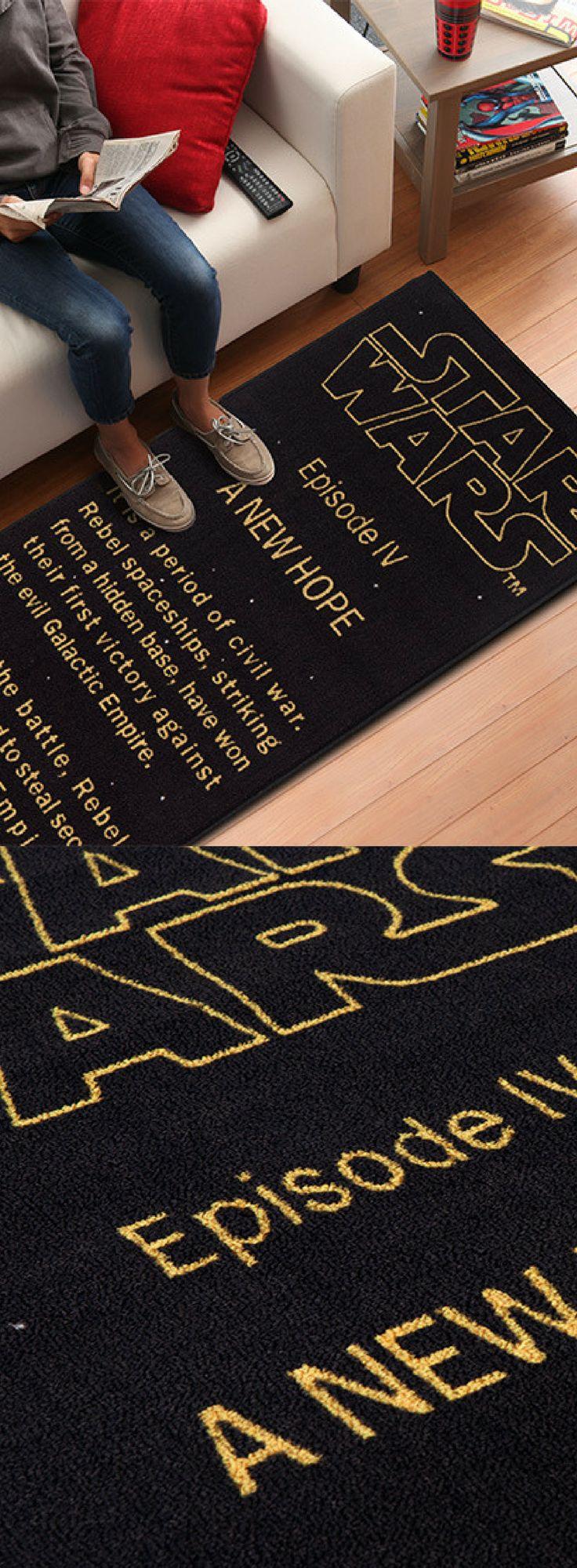 Star Wars Floor Rug - Star Wars Gifts #starwars #rug #home