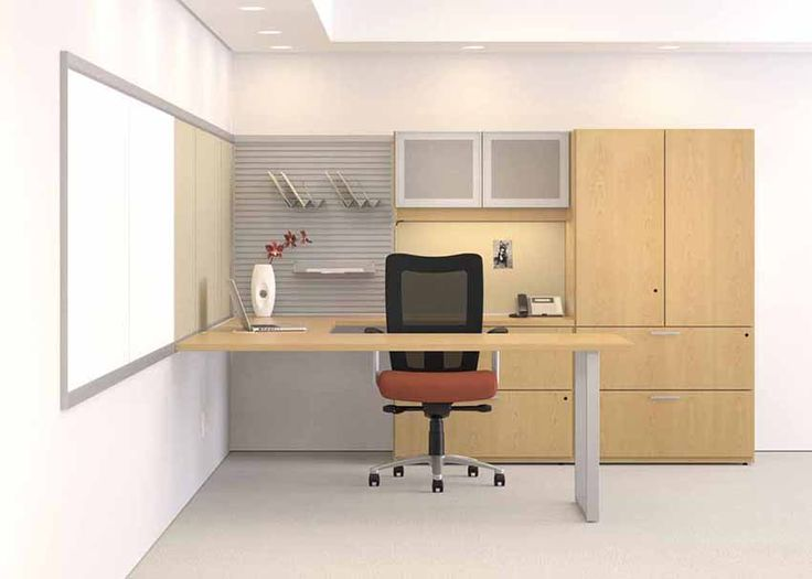 12 best private office settings images on pinterest for Ample storage space