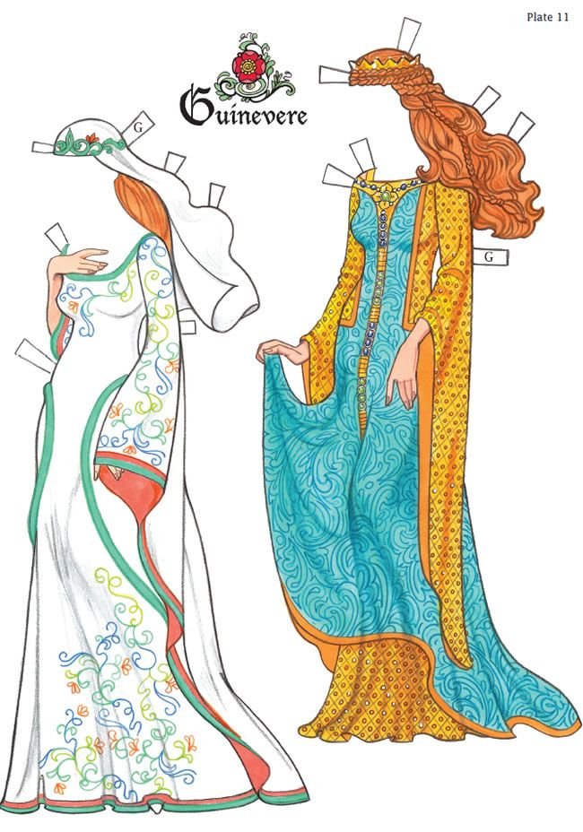 226 Best Paper Dolls: Medieval & Rennas Images On Pinterest