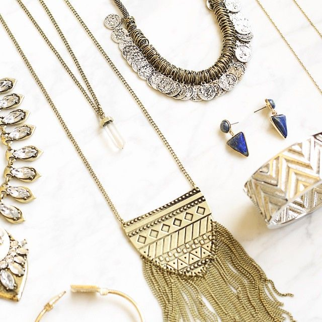"""stitchfix: """"Channeling cool bohemian vibes with this assortment of accessories. #bohostyle"""""""