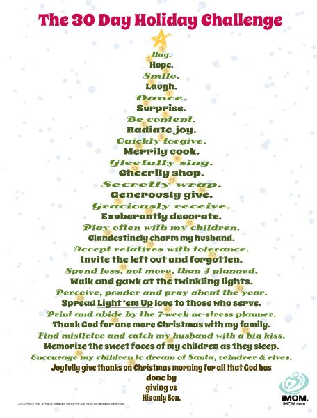 Take the 30 Day Holiday Challenge to add more meaning, memories, and joy to your Christmas season! Don't let the real meaning of Christmas get lost in the hustle and bustle of the holiday season. Use our Story of Christmas printable to highlight the reason for the season.