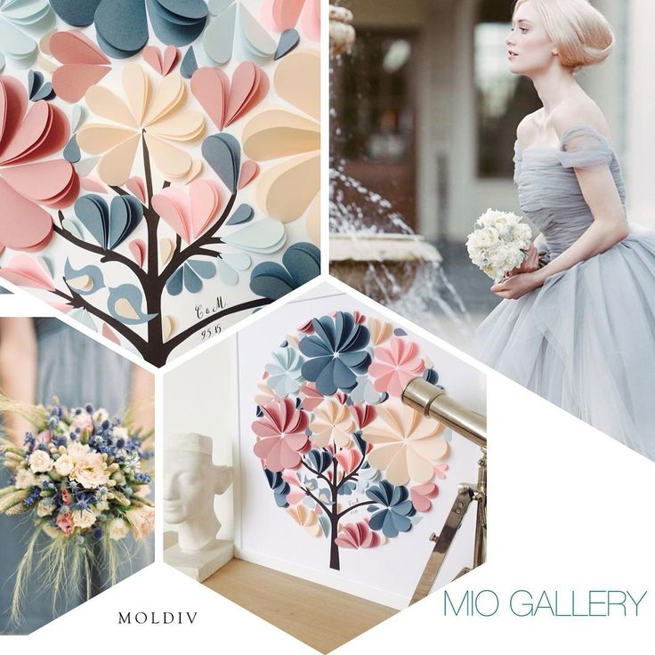 MIO GALLERY Official в Instagram: «Slate Blue and Dusty Rose Wedding drives me crazy! Totally in love with this color combination! P.S. Unique 3d Heart Guest Book by MIO GALLERY international Shipping Available Find a link to shop in a profile. #miogallery #wallart #paperart #uniquebabyart #miogallery #студиябумажногодекора #картинапожеланий #guestbook #миогелери #madeinukraine #weddinginspo #eventplanning #eventdesign #walldecor #theknot #weddingmagazine #slatebluewedding