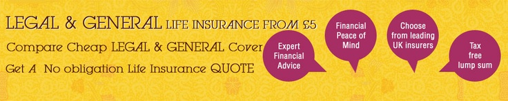 Compare Legal & General Life Insurance with other life insurance products through life-shelter and get best deals.