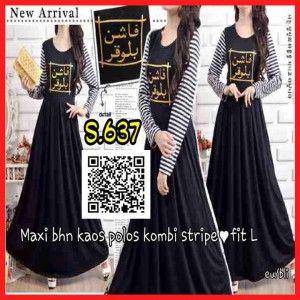 Baju Maxi Long Dress Terbaru Remaja s637