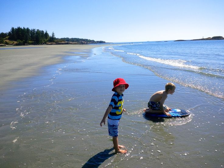 Amazing day trip to Witty's Lagoon. So many fabulous beaches in our own backyard and this one takes no time to get there from Victoria.  #vancouverisland #explorebc