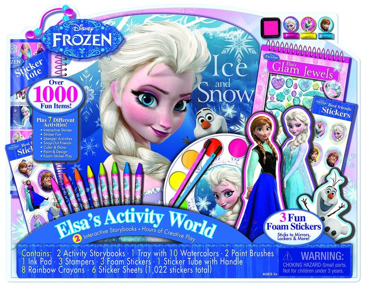 amazoncom bendon disney frozen giant art collection playset toys games - Childrens Games Free Disney