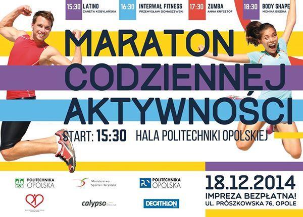 Opolski Maraton Codziennej Aktywności (Opole, 18.12.2014)