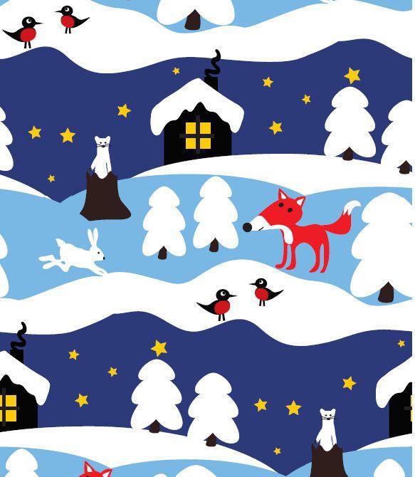 Jny Design Snowy Cottage Luomutrikoo - Lasten Taikamaa