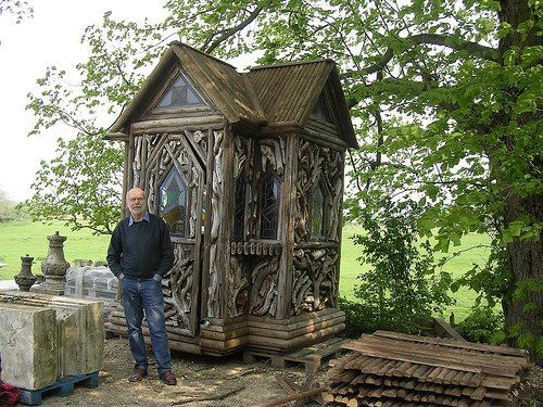 Gothic Revival | Gardening Shed