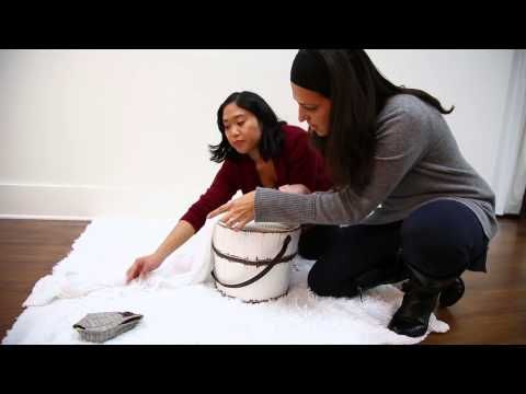 Ana Brandt Posing a Newborn Baby in A Bucket - YouTube