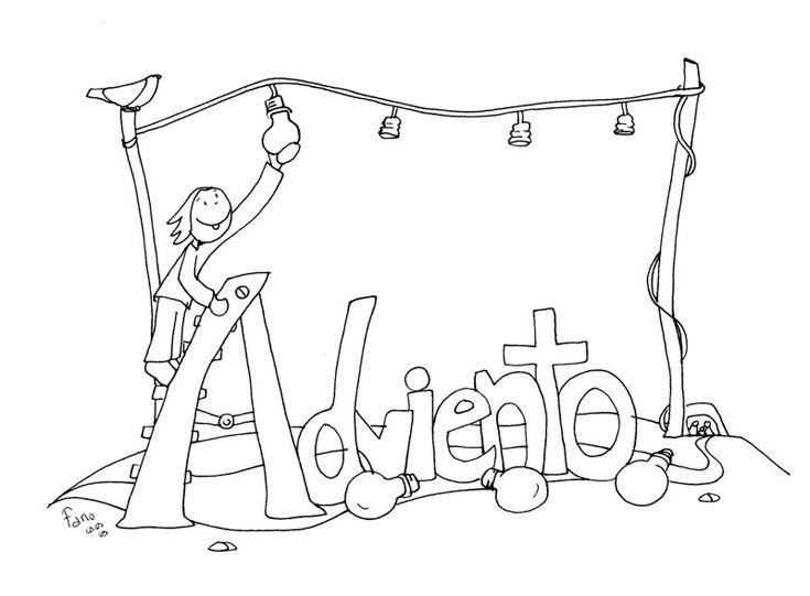 Mejores 78 imágenes de Adviento en Pinterest | Adviento, Escuela y ...