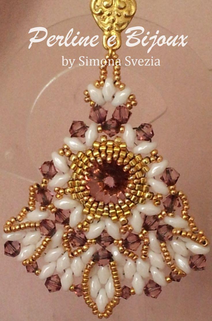 Orecchini Indian Scent by Perline e Bijoux by Simona Svezia Indian Scent earrings by Perline e Bijoux by Simona Svezia