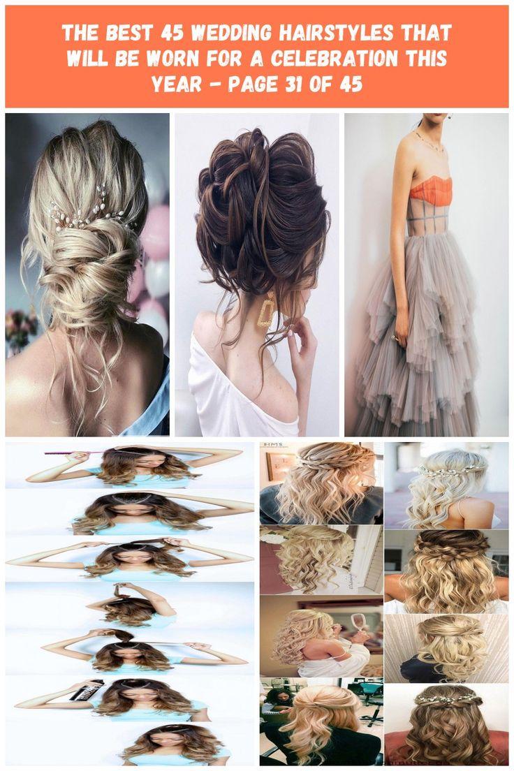 Hochzeitsfrisuren; Hochzeitsfrisuren halb hoch halb runter; Hochzeit Frisuren Hochsteckfrisur; Hochzeitsfrisuren für langes Haar; Hochzeitsfrisuren mittlerer Länge; ...