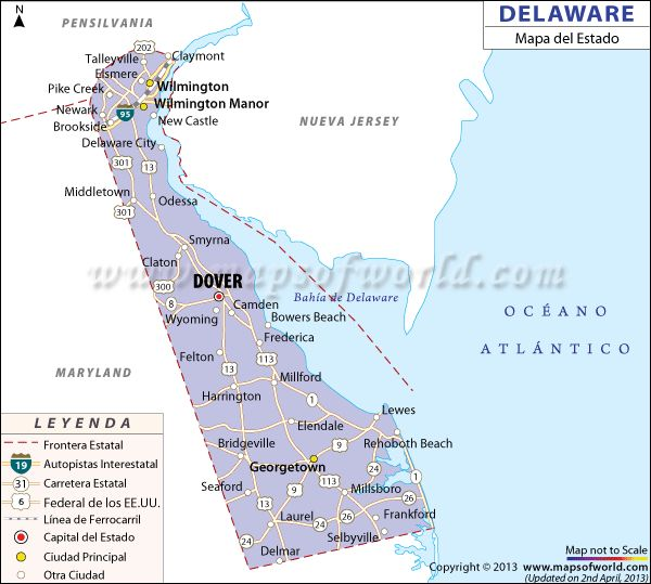 Best STATE OF DELAWARE USA Images On Pinterest Delaware State - Delaware us map
