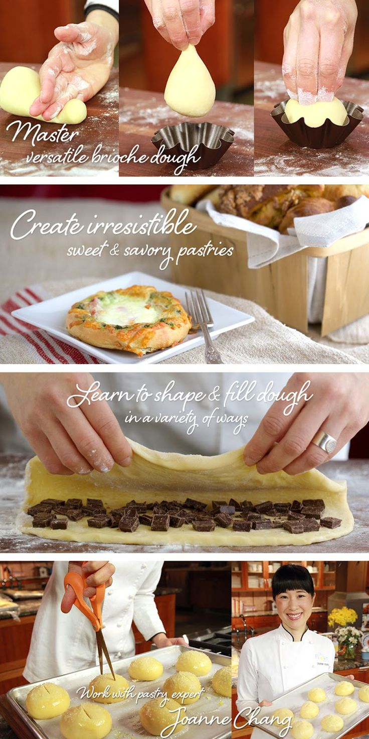 Learn how to make authentic brioche pastries with recipes and a giveaway from Craftsy!