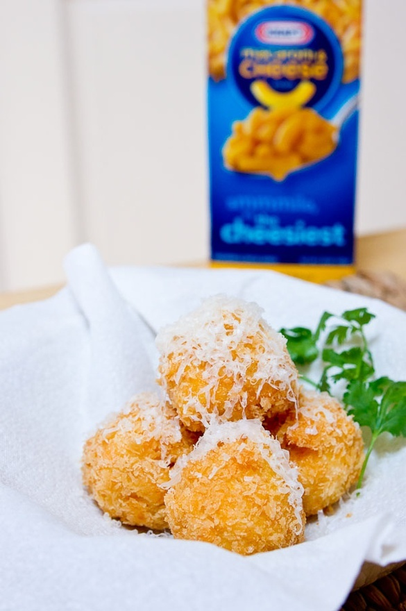 Leftover Mac and Cheese Balls Fried recipes-and-foods