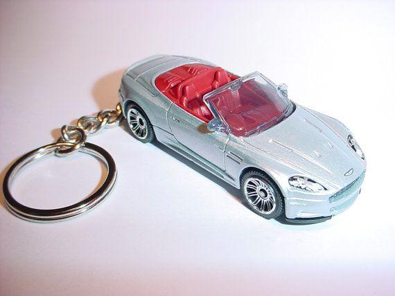 3D Aston Martin DBS Volante custom keychain by Brian Thornton